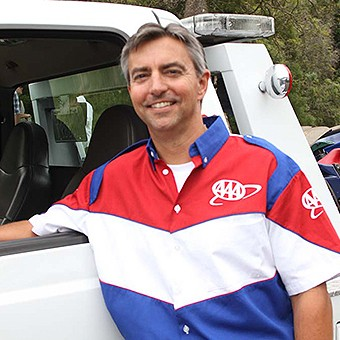 AAA tow truck driver Jeff