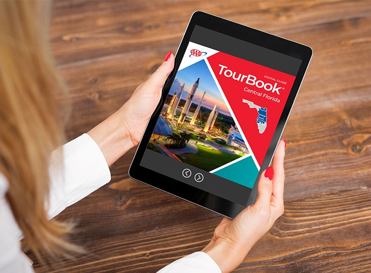 TourBooks and maps online ordering