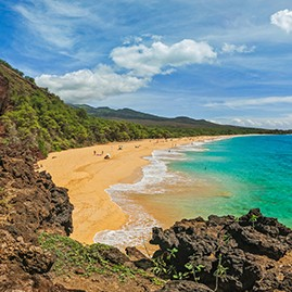 Makena Beach, Maui, Hawaii