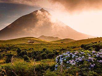 Mount Pico in the Azores
