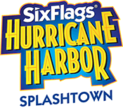 Six Flags Hurricane Harbor Splashtown logo