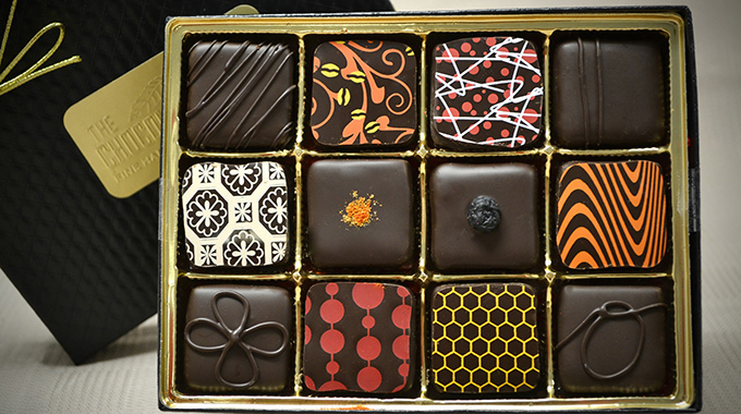 The 12-piece truffle box is Chocolate Cartel's bestselling item during the holiday season. | Photo courtesy Chocolate Cartel
