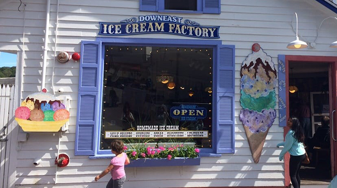 Downeast Ice Cream Factory