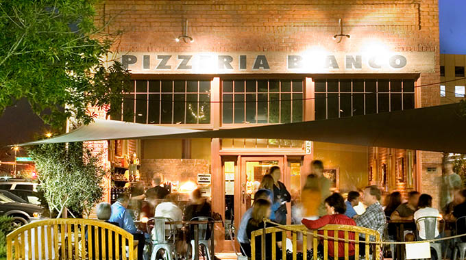 At Pizzeria Bianco in Heritage Square in downtown Phoenix, chef Chris Bianco has won accolades and awards for his pies. | Jill Richards