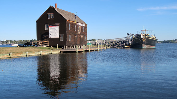 The Salem Maritime National Historic Site. | Photo by Mimi Bigelow Steadman