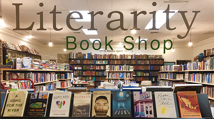 Literarity book shop in El Paso