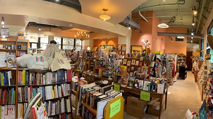 twig bookstore interior