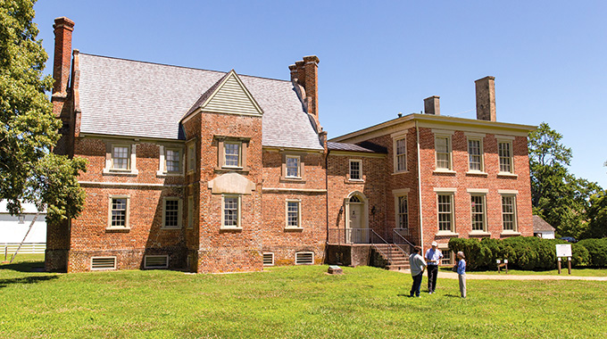 Built in 1665, Bacon's Castle is the oldest standing brick dwelling in North America. | Photo by Parker Michels-Boyce