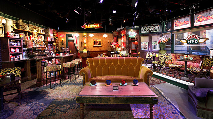 The set of the TV show Friends on the Warner Bros. Studio Tour Hollywood