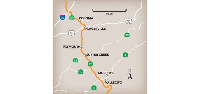 Highway 49 road trip