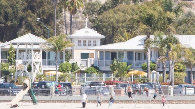 Avila Lighthouse Suites (in the background) is located on Front Street, which runs along Avila Beach's oceanfront. | Stephanie Hagar