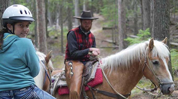 horseriding swan mountain outfitters