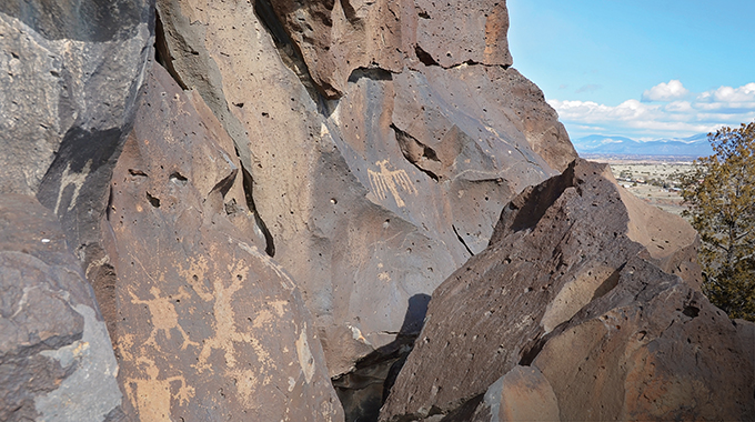 The petroglyphs are wonderful to view, but don't touch them or harm them in any way.