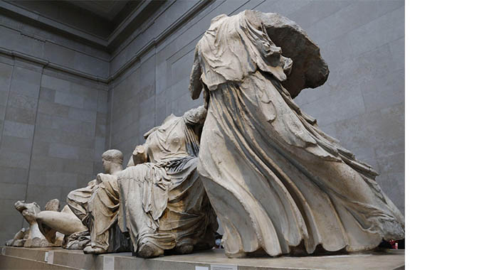 Statues from the Parthenon | Photo by Hemis / Alamy Stock Photo